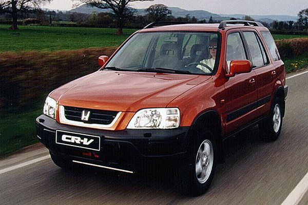 honda cr v estate review 1997 2001 parkers. Black Bedroom Furniture Sets. Home Design Ideas