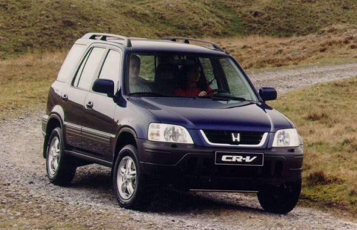 honda cr v estate 1997 2001 driving performance parkers. Black Bedroom Furniture Sets. Home Design Ideas