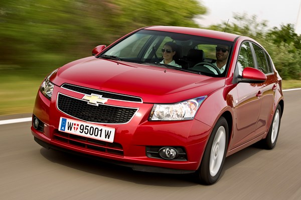 Chevrolet Cruze (11-15) - rated 3.5 out of 5