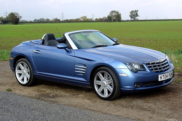 chrysler crossfire roadster from 2004 used prices parkers. Black Bedroom Furniture Sets. Home Design Ideas