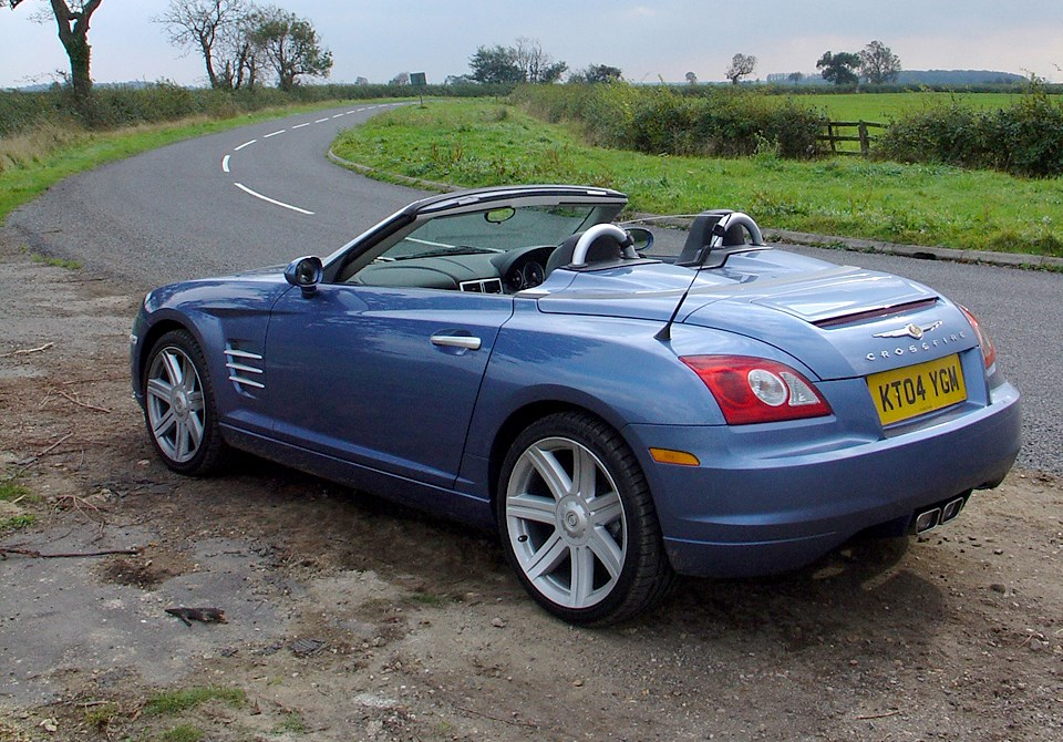 Chrysler crossfire roadster review 2004 2008 parkers