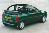 Vauxhall Corsa Cabriolet 1998-