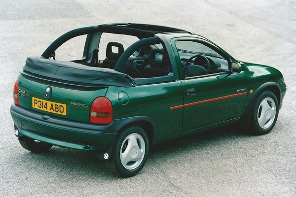 Vauxhall Corsa Cabriolet (1998 - 1999) Used Prices