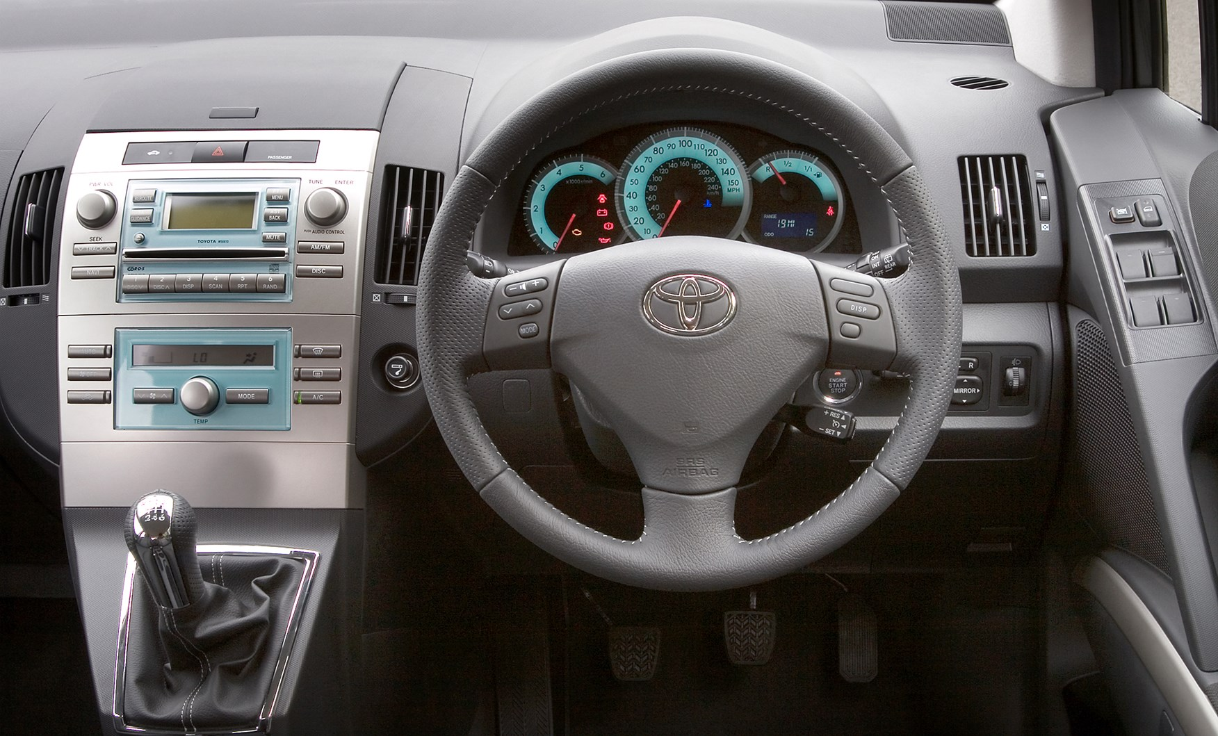 toyota corolla verso review (2004 - 2009)   parkers