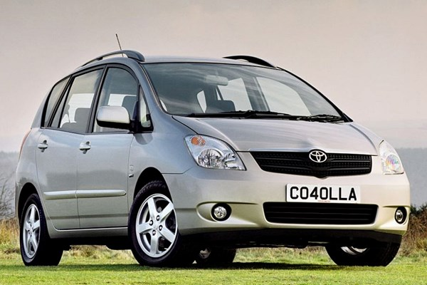 toyota corolla verso from 2002 used prices parkers. Black Bedroom Furniture Sets. Home Design Ideas