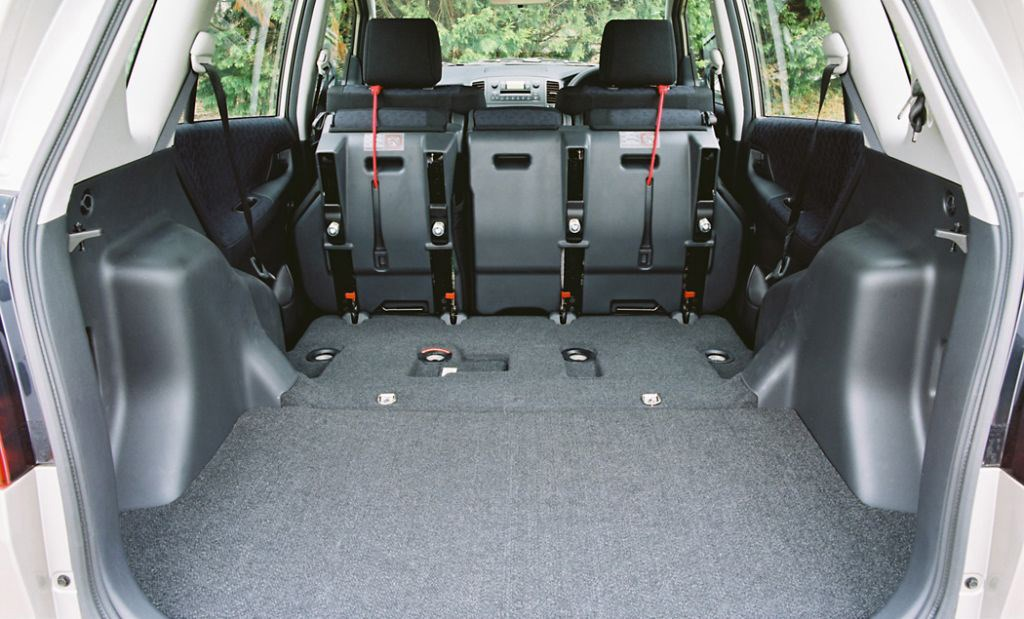 Rav4 Boot Dimensions >> Toyota Corolla Verso (2002 - 2003) Features, Equipment and Accessories | Parkers