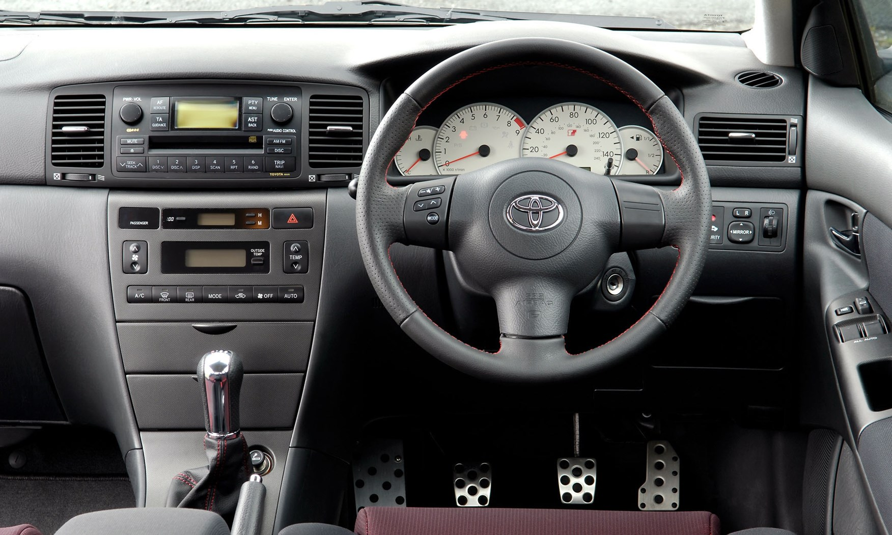 toyota corolla hatchback 2002 2006 driving. Black Bedroom Furniture Sets. Home Design Ideas