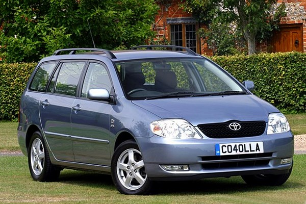 Toyota Corolla Estate (2002 - 2006) Used Prices