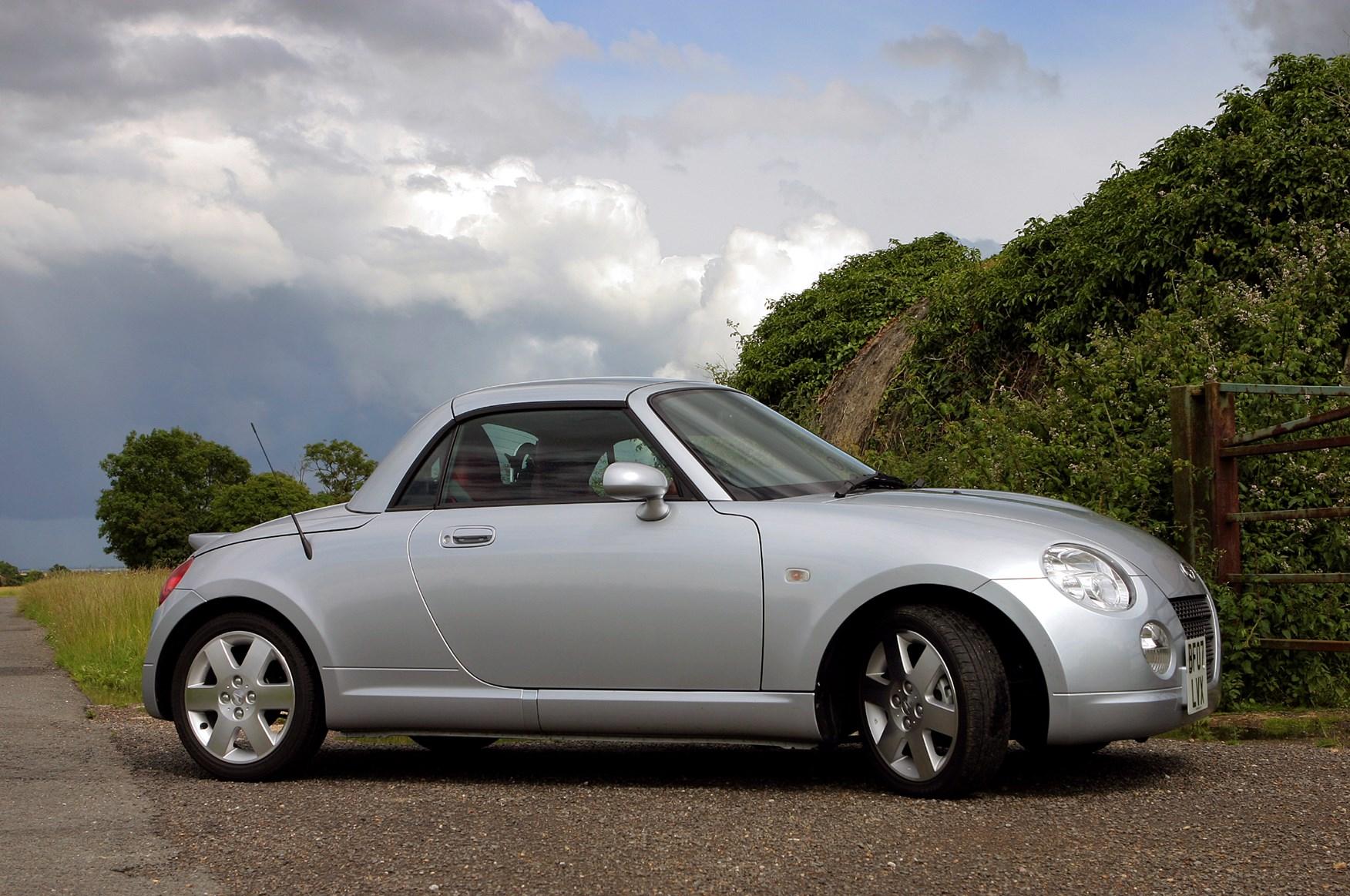 Daihatsu copen coupe cabriolet review 2004 2010 parkers
