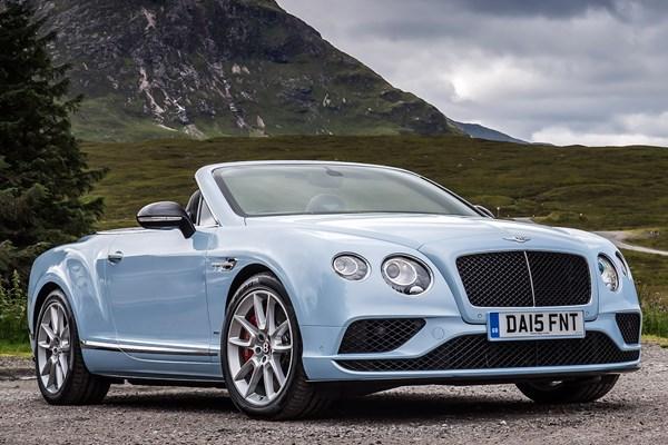 Bentley 2015 Contintental GTC Convertible