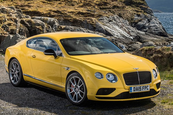 Bentley 2015 Contintental GT Coupe