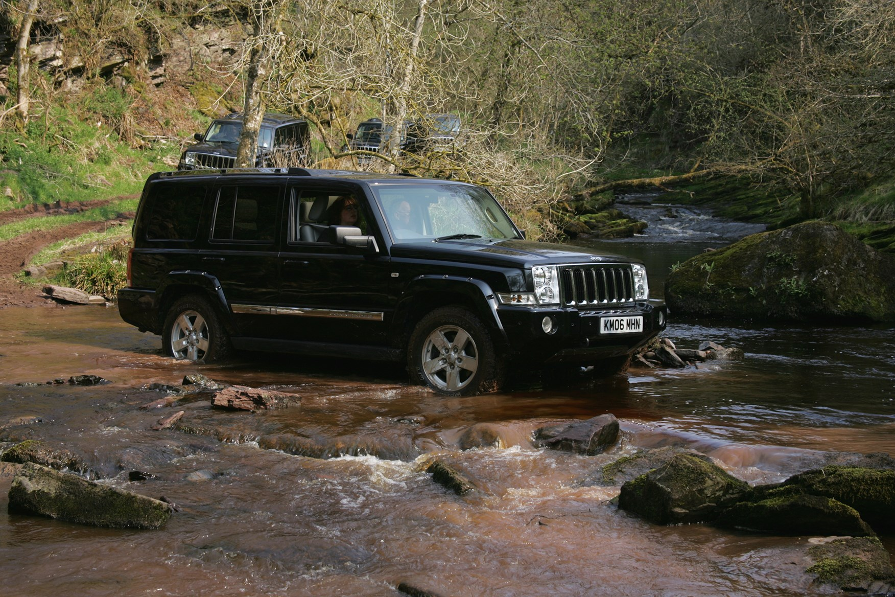 Jeep Commander Station Wagon 2006 2009 Photos Parkers