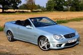 Mercedes-Benz CLK-Class Cab 02-
