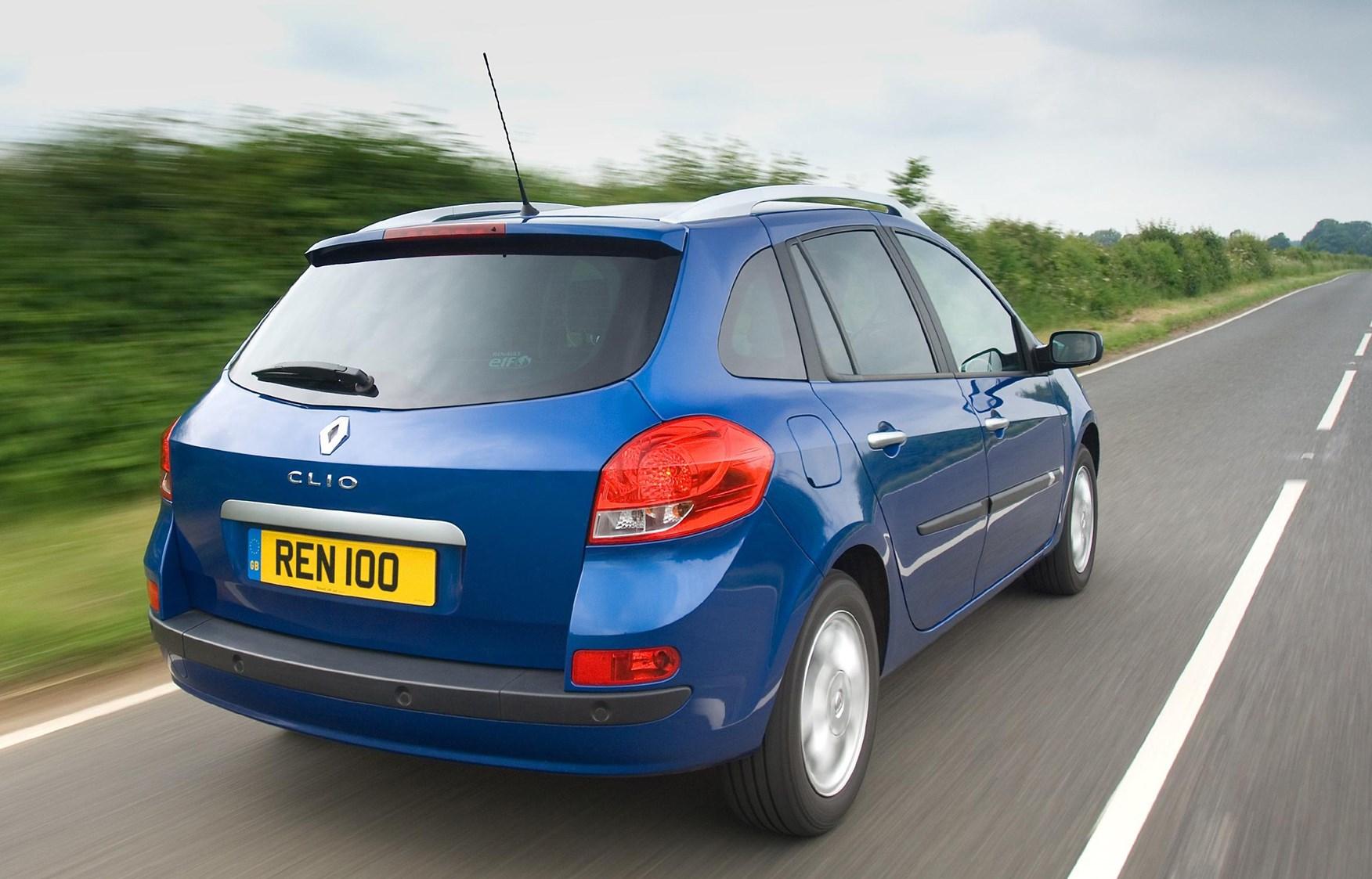 renault clio sport tourer 2008 2012 driving performance parkers. Black Bedroom Furniture Sets. Home Design Ideas