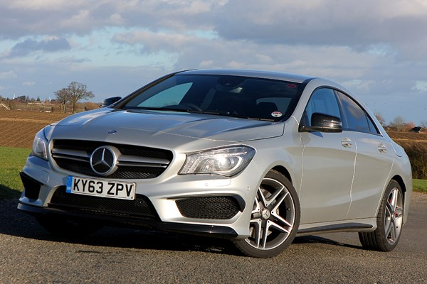 mercedes benz cla class amg from 2013 used prices parkers