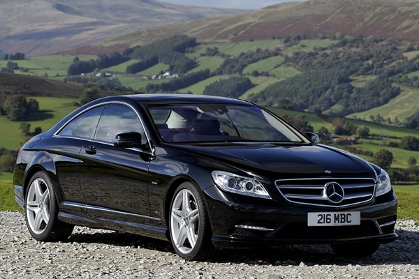 mercedes benz cl coupe from 2007 used prices parkers