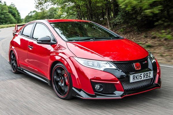 honda civic type r from 2015 used prices parkers. Black Bedroom Furniture Sets. Home Design Ideas
