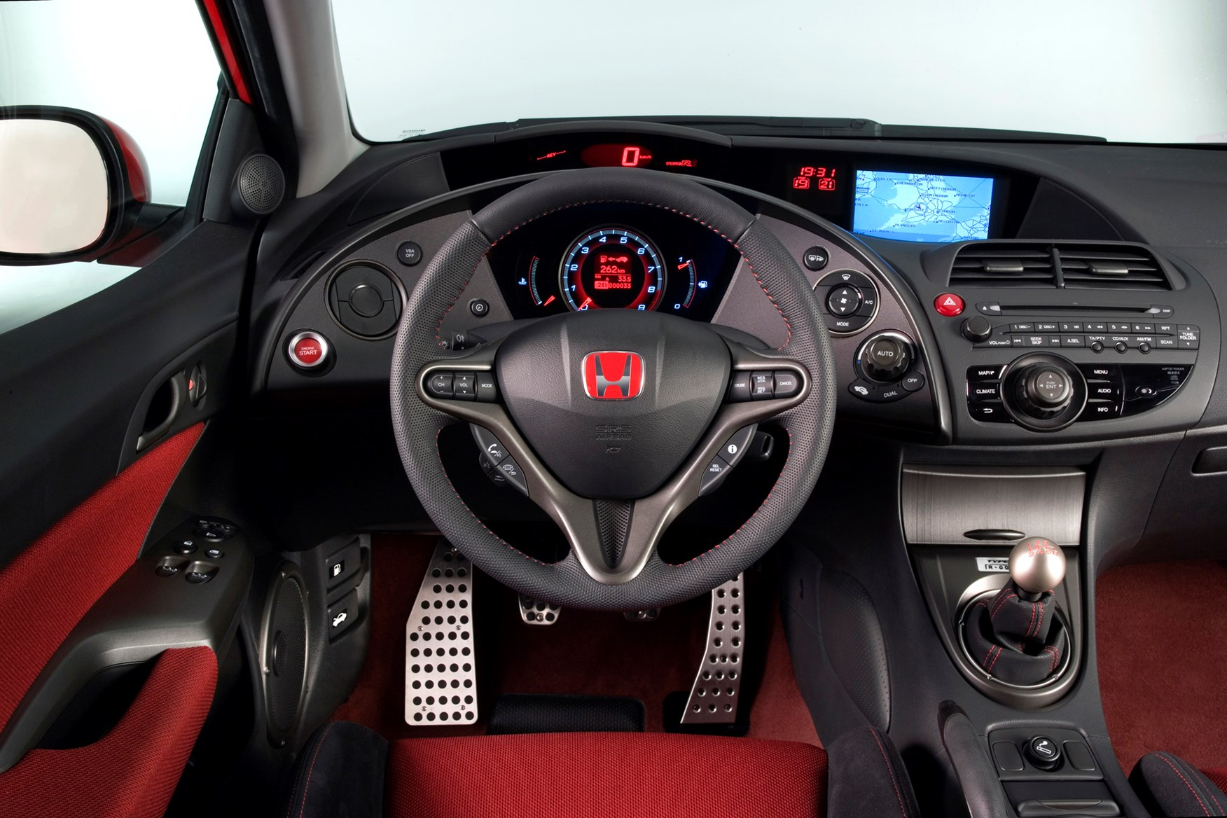 honda civic type r review 2007   2010 parkers