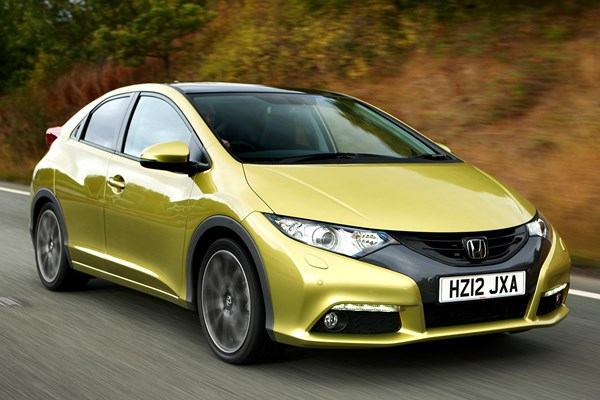 Honda Civic Hatchback (12 17)   Rated 3.5 Out Of 5
