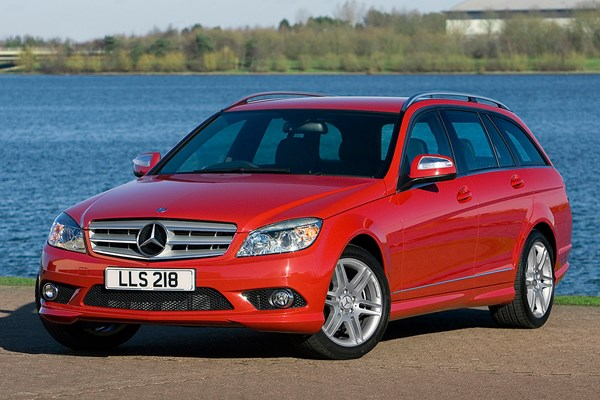 Mercedes benz c class estate from 2008 used prices parkers for Mercedes benz c class 2008 price