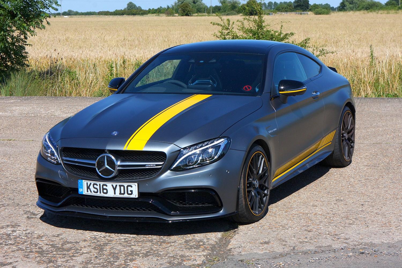 Mercedes benz c class amg 2015 photos parkers - Mercedes benz c class coupe amg ...