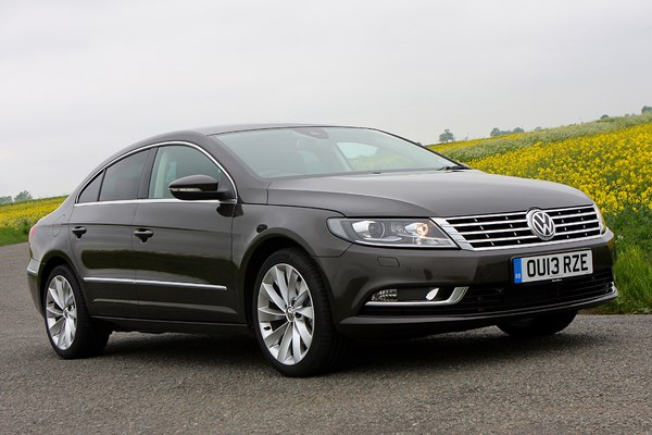 volkswagen cc saloon from 2012 used prices parkers. Black Bedroom Furniture Sets. Home Design Ideas