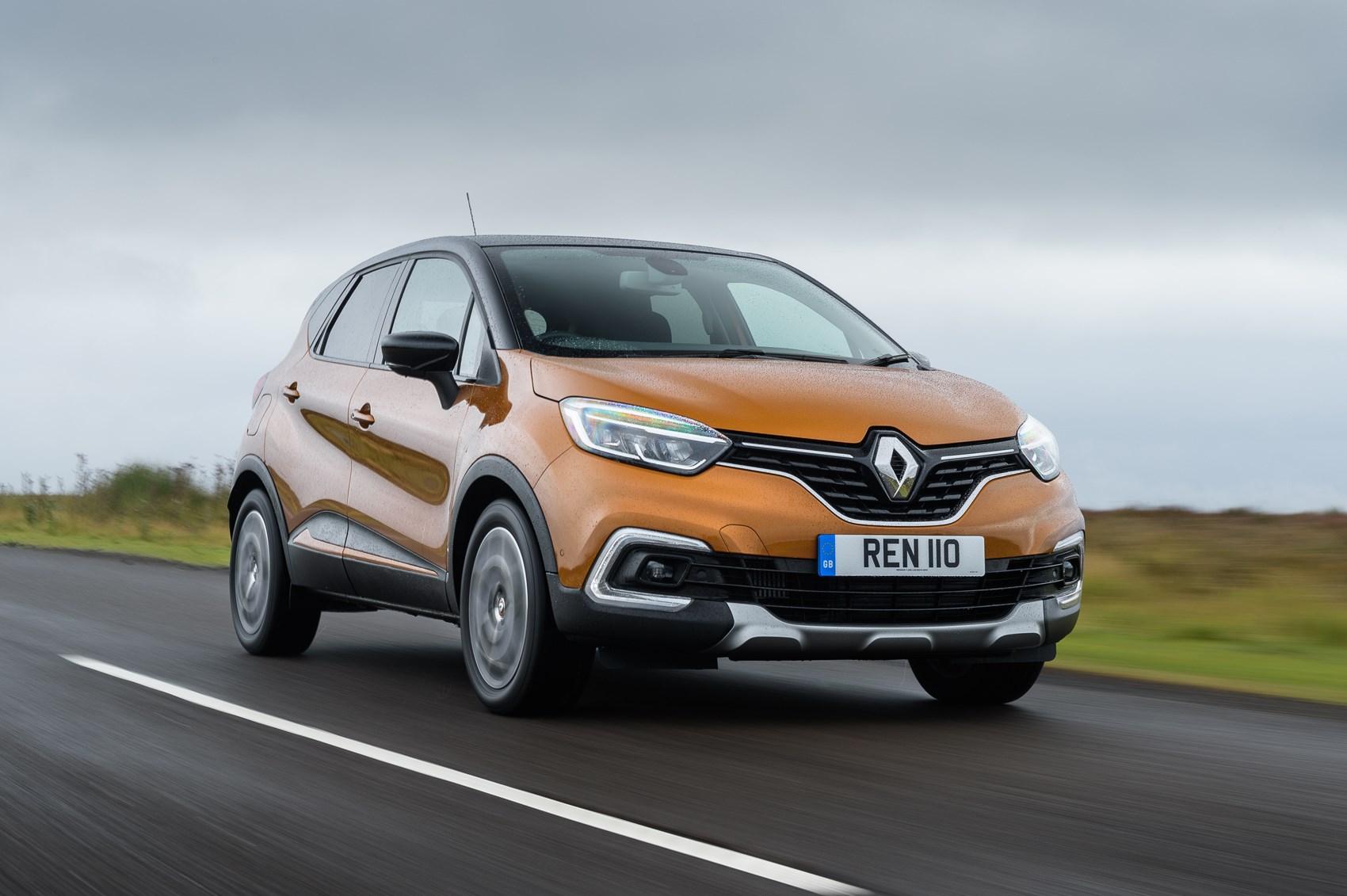 2018 Renault Captur front