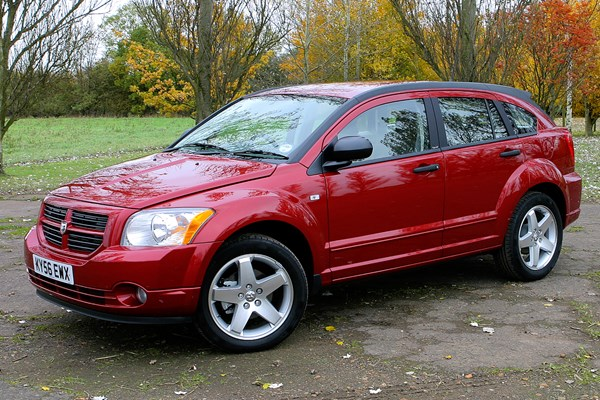 dodge caliber hatchback review 2006 2009 parkers. Black Bedroom Furniture Sets. Home Design Ideas