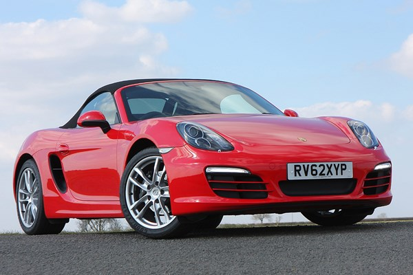 porsche boxster roadster from 2012 used prices parkers. Black Bedroom Furniture Sets. Home Design Ideas