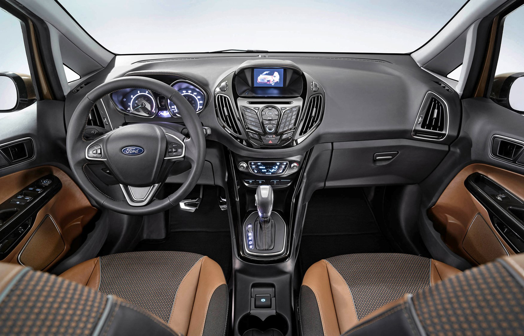 Ford b max estate 2012 driving performance parkers for Max interior