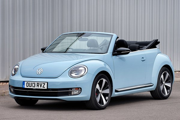 volkswagen beetle cabriolet from 2013 used prices parkers. Black Bedroom Furniture Sets. Home Design Ideas
