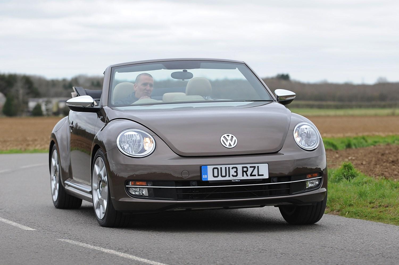 volkswagen beetle cabriolet review 2013 parkers. Black Bedroom Furniture Sets. Home Design Ideas