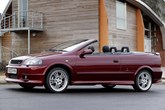 Vauxhall Astra Convertible 2001-