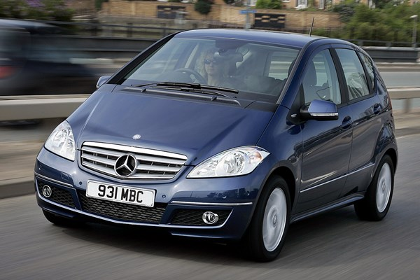 mercedes benz a class hatchback from 2005 used prices parkers. Black Bedroom Furniture Sets. Home Design Ideas