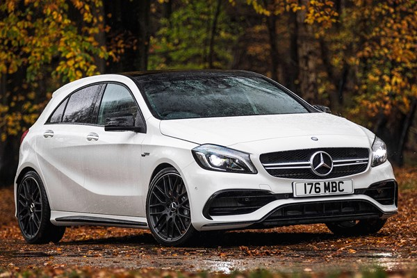 mercedes benz a class amg from 2013 used prices parkers. Black Bedroom Furniture Sets. Home Design Ideas