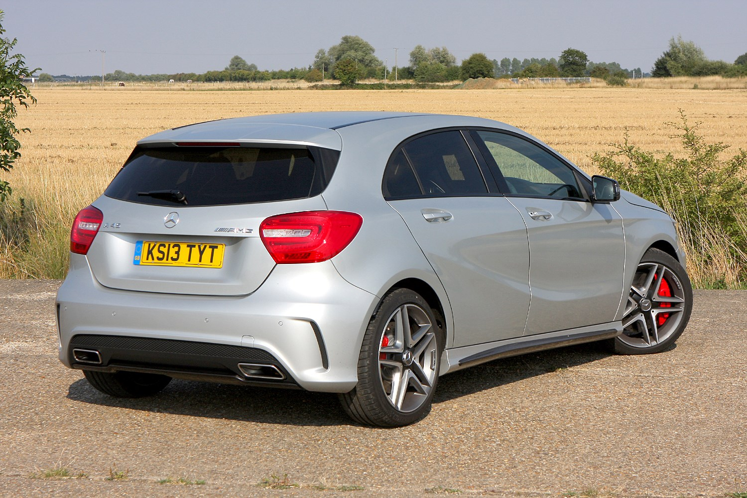 Mercedes benz a class amg 2013 photos parkers for How much is a mercedes benz amg