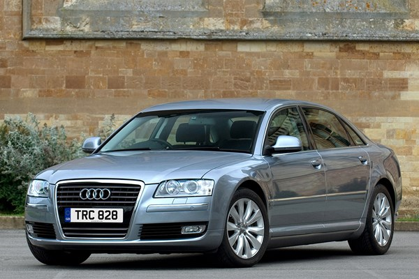audi a8 saloon from 2003 used prices parkers. Black Bedroom Furniture Sets. Home Design Ideas