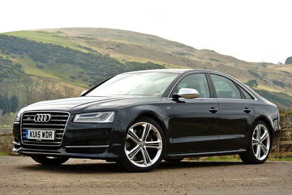 audi a8 s8 from 2012 used prices parkers. Black Bedroom Furniture Sets. Home Design Ideas