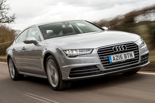 audi a7 sportback from 2010 used prices parkers. Black Bedroom Furniture Sets. Home Design Ideas