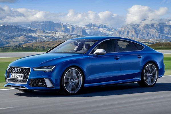 audi a7 rs7 sportback from 2013 used prices parkers. Black Bedroom Furniture Sets. Home Design Ideas