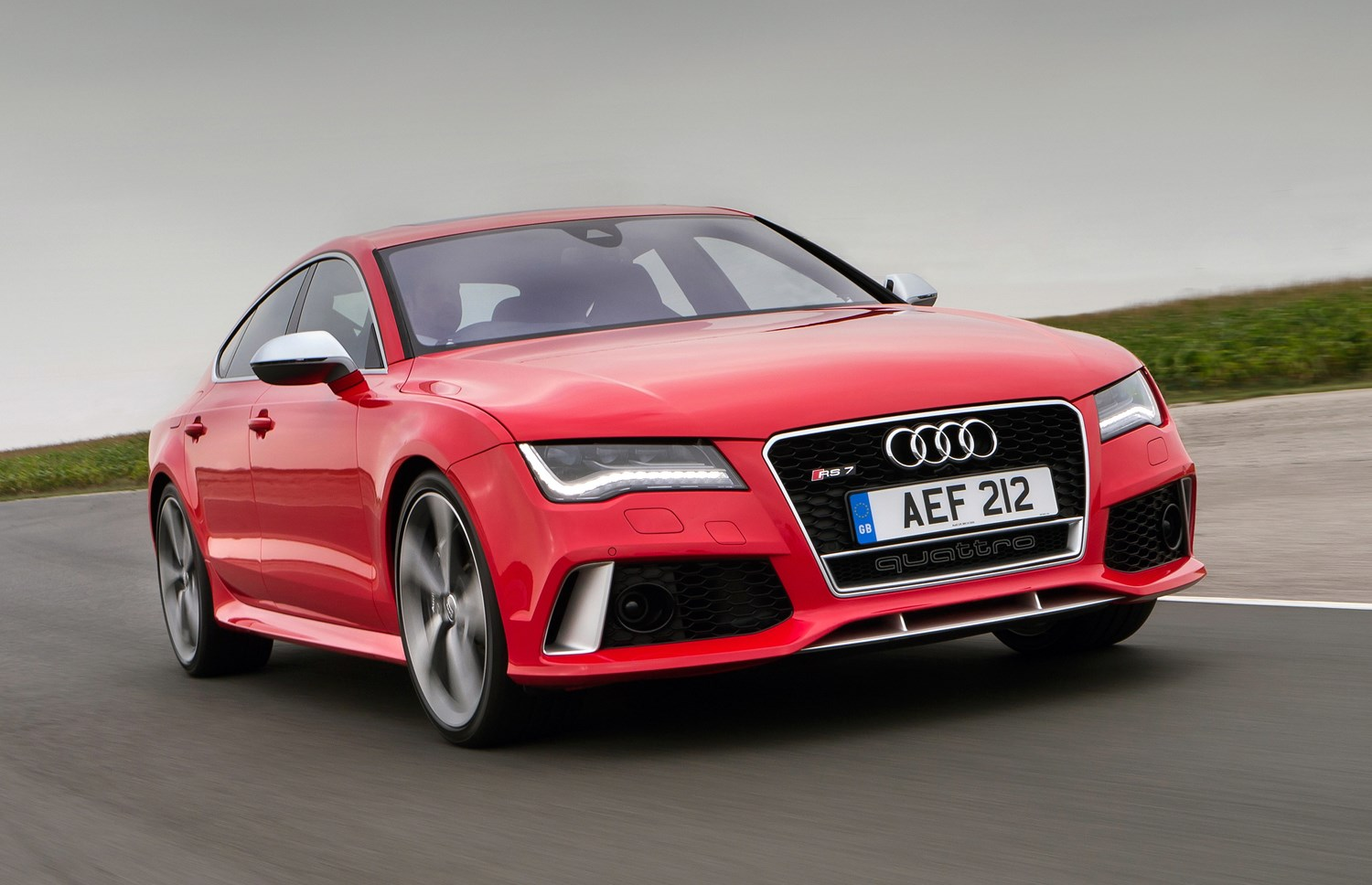 audi a7 rs7 sportback 2013 driving performance parkers. Black Bedroom Furniture Sets. Home Design Ideas