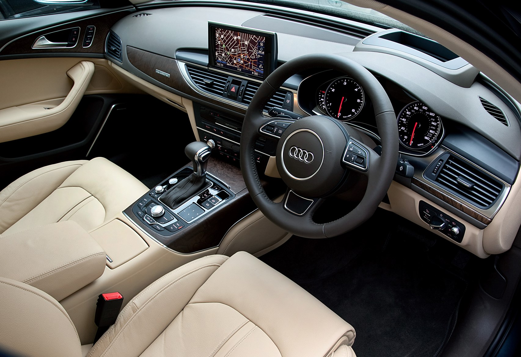 audi a6 saloon review 2011 parkers. Black Bedroom Furniture Sets. Home Design Ideas