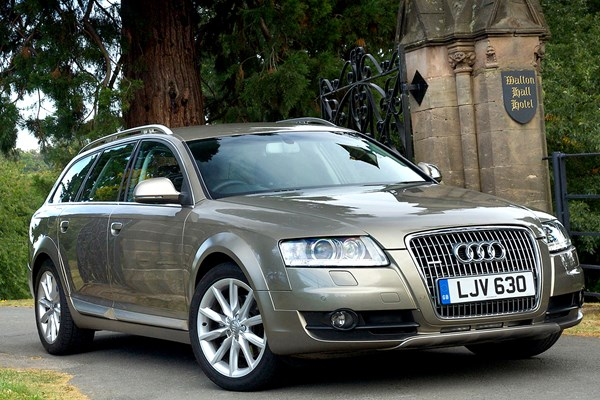 audi a6 allroad from 2006 used prices parkers. Black Bedroom Furniture Sets. Home Design Ideas