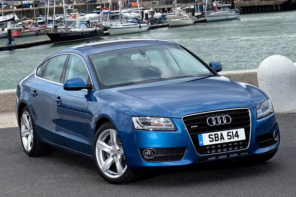 audi a5 sportback from 2009 used prices parkers. Black Bedroom Furniture Sets. Home Design Ideas