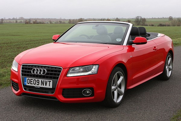 Used Audi A5 Cabriolet 2009 2017 Review Parkers