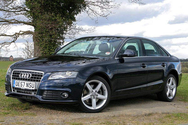 audi a4 saloon from 2008 used prices parkers. Black Bedroom Furniture Sets. Home Design Ideas
