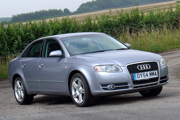 audi a4 saloon from 2005 used prices parkers. Black Bedroom Furniture Sets. Home Design Ideas
