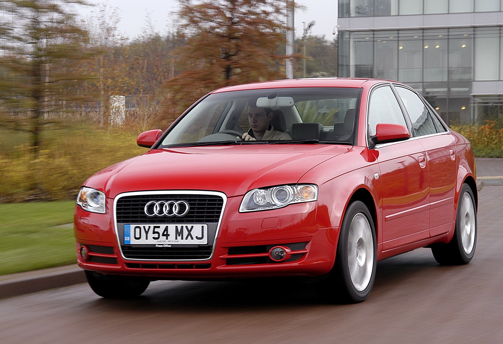 Audi rs4 060 parkers