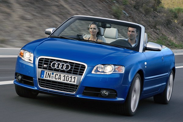 audi a4 cabriolet from 2006 used prices parkers. Black Bedroom Furniture Sets. Home Design Ideas