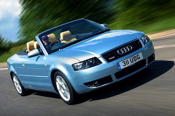 audi a4 cabriolet from 2001 used prices parkers. Black Bedroom Furniture Sets. Home Design Ideas